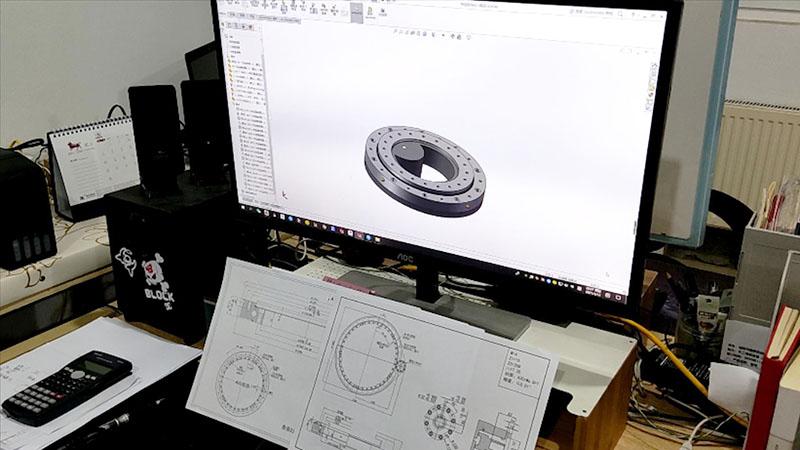 回转支承设计