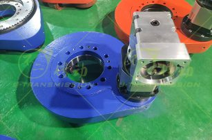 SP-I-0280用在工业自动化领域的外齿回转驱动