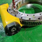 型号为W25的开式蜗轮蜗杆回转驱动